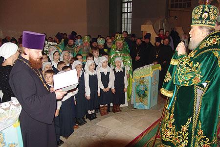 28 ноября Архиепископа Паисия поздравили с Днем Ангела