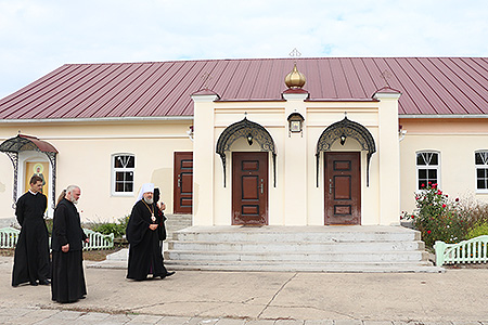 В Долбенкино открылся Свято-Елизаветинский духовный культурно-просветительский ц