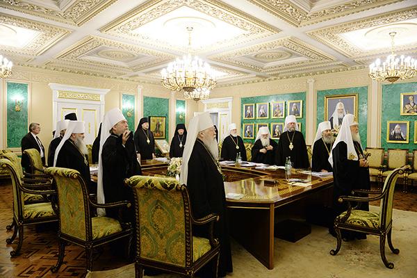 В Даниловом монастыре в Москве состоялось очередное заседание Священного Синода