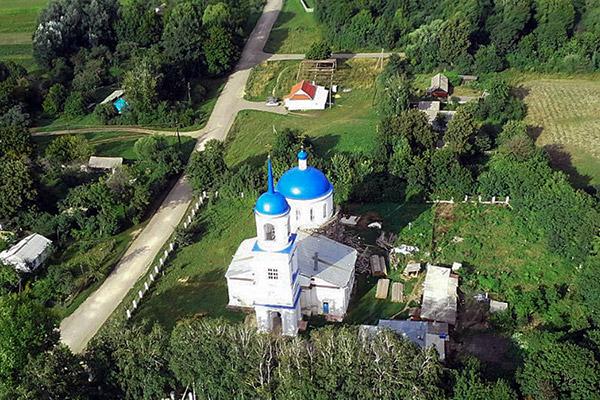 Покровский храм с. Архарово