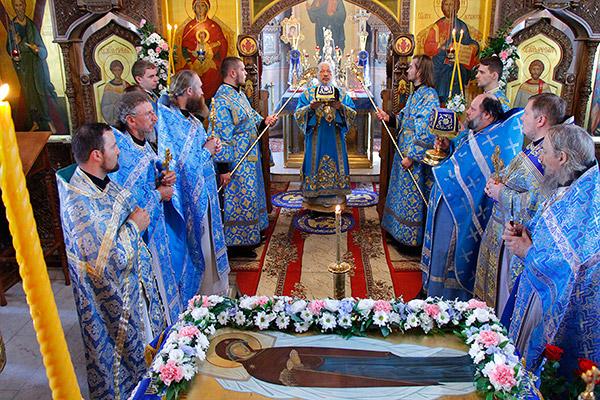 В день Успения Пресвятой Богородицы и годовщину открытия Поместного Собора 1917-
