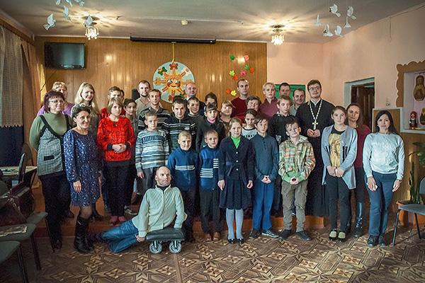 Православные волонтеры рассказали воспитанникам Кромского интерната о профессиях