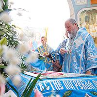Митрополит Антоний: «Успение Божией Матери не означает, что Она ушла от нас»