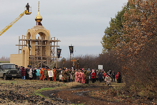В Ливенском районе начато строительство мемориальной часовни в честь Новомученик