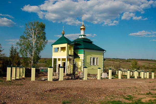 Свято-Троицкий храм с. Троицкое