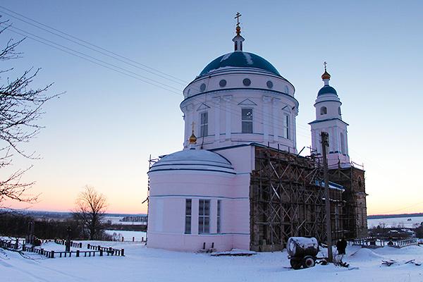 Казанский храм с. Паслово