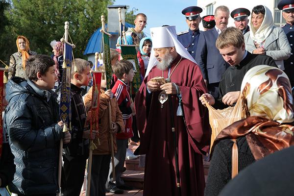 Праздник Рождества Богородицы в Болхове. Репортаж Юрия Петракова