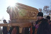 Орловская епархия отметила праздник Собора новомучеников Российских крестных ходом