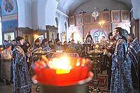 Архиепископ Пантелеимон возглавил утреню с чтением Великого канона Андрея Критского