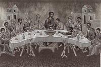 Великий  Четверг: «… пейте из нее все, ибо сие есть Кровь Моя Нового Завета, за многих изливаемая во оставление грехов.»