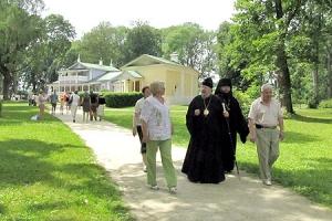 Архиепископ Пантелеимон принял участие во Всероссийском Тургеневском празднике в Спасском-Лутовинове