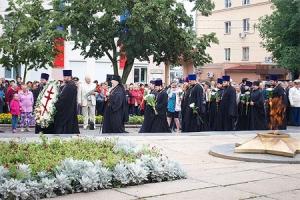 Орловские священнослужители отдали дань памяти освободителям Орла