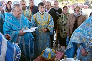 Архиепископ Пантелеимон совершил великое освящение Успенского храма в селе Теличье Ливенского района