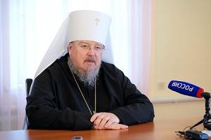 Перед отбытием на Красноярскую кафедру митрополит Пантелеимон ответил на вопросы орловских журналистов