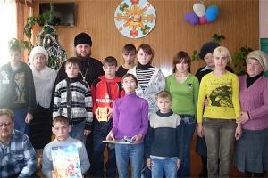 Благочинный Троснянско-Кромского округа встретился с воспитанниками Кромского интерната