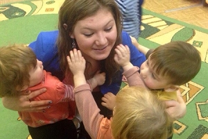 Православная молодежь поздравила детей Дома малютки и воспитанников Должанского детского дома с Рождеством