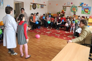 Волонтеры Свято-Троицкого храма Орла посетили Глазуновский детский дом-интернат