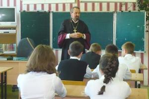 В Знаменской средней школе прошли уроки, посвященные Дню славянской письменности и культуры