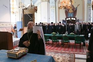 Состоялось объединенное собрание духовенства и сотрудников Орловской митрополии