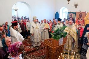 В праздник Вознесения Господня митрополит Антоний совершил литургию в Казанском