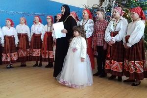 В монастыре Ксении Петербургской прошел благотворительный рождественский праздни
