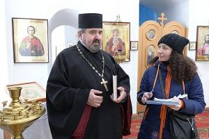 На свои средства настоятель церкви Иконы Божией Матери «Знамение» в Знаменском р