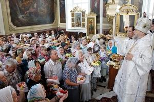 Святая Церковь отмечает Преображение Господне