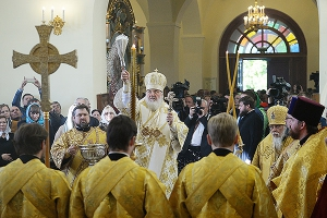 Орловчане приняли участие в первой Патриаршей литургии с сурдопереводом