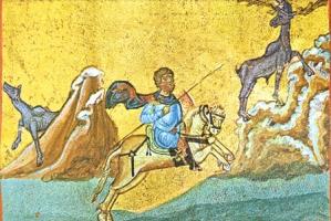 Память великомученика Евстафия Плакиды