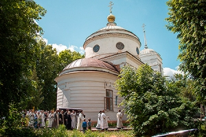 В селе Старцево-Лепешкино состоялось отпевание и погребение протоиерея Иоанна Кв