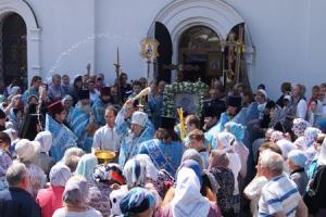 Владыка Антоний принял участие в торжествах в честь Тихвинской иконы Божьей Матери в городе Болхове