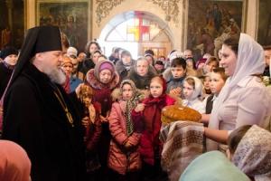 Служение архиепископа Антония в в Свято-Сергиевском кафедральном соборе. города Ливны