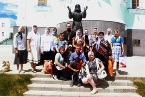 Орловские прихожане с ограниченными возможностями посетили Коренную пустынь