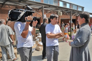 Около 780 тонн гуманитарной помощи принято церковным Штабом помощи пострадавшим в Крымске