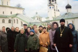 Учащиеся Воскресной школы для глухих и слабослышащих совершили паломническую поездку в Псковскую область