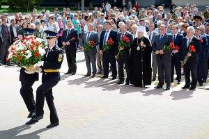 Митрополит Антоний принял участие в церемонии памяти погибших в годы Великой Оте