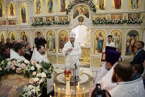 Священнослужители Орловской митрополии приняли участие в открытии православного
