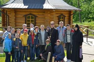 Волонтеры православных молодежных движений Орла организовали поездку в Корсунск