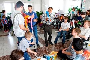 Орловские православные волонтеры организовали мастер-класс для воспитанников бол