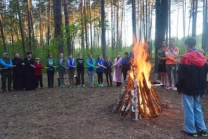 В «Орловском полесье» открылся летний православный лагерь «Феодоровский городок»