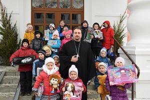 Епархиальный отдел социального служения организовал Рождественский приём для дет
