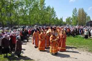 Георгиевский храм г. Ливны отметил престольный праздник