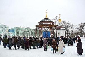 В храмах Орловской епархии отметили праздник Богоявления Господня