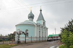 Свято-Успенский храм п. Тросна отметил десятилетие