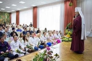 Митрополит Антоний напутствовал молодых специалистов Детской областной больницы