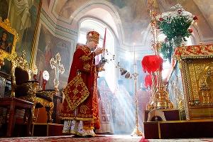 В день памяти своих небесных покровителей, Виленских мучеников Антония, Иоанна и