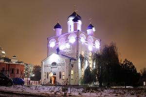 В Свято-Успенском монастыре отмечают пятилетие освящения Казанского храма