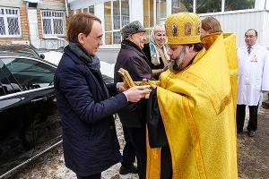 Орловской митрополии и НКМЦ имени Круглой передана частица мощей праведного Лаза