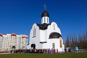 Престольный праздник храма на улице Раздольной. Фоторепортаж