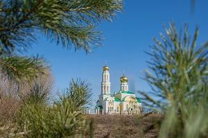 Митрополит Антоний совершил Чин великого освящения Алексанро-Невского храма в с.